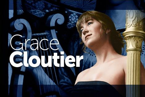 Harpist Grace Cloutier